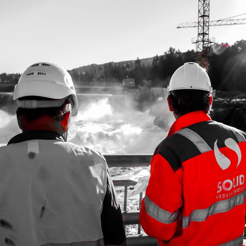 Embrettsfoss kraftverk, inspeksjon, engineering