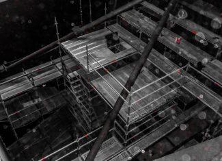 Kvistforsen kraftverk stillas